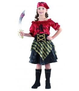 Disfraz de Piratesa Corsaria Infantil