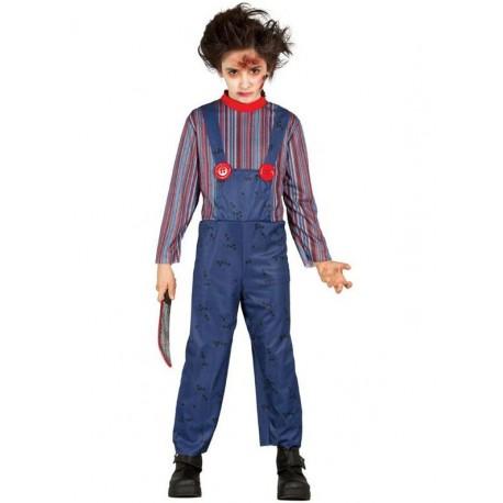 Disfraz de Muñeco Diabolico infantil