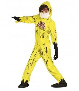 Disfraz de Buzo Radiaoactivo Zombie Infantil