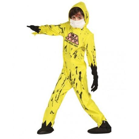Disfraz de Zombie Radiactivo Infantil