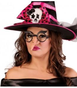Gafas con Cejas y Nariz de Bruja