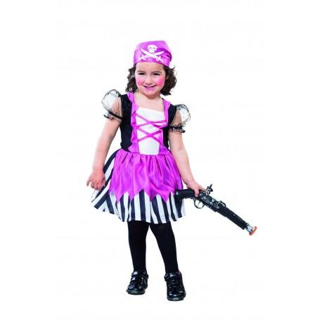 Disfraz de Piratesa Bebe