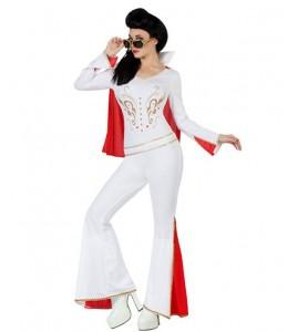 Disfraz de Rey del Rock Chica buzo