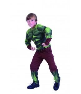 Disfraz de Hulk musculoso