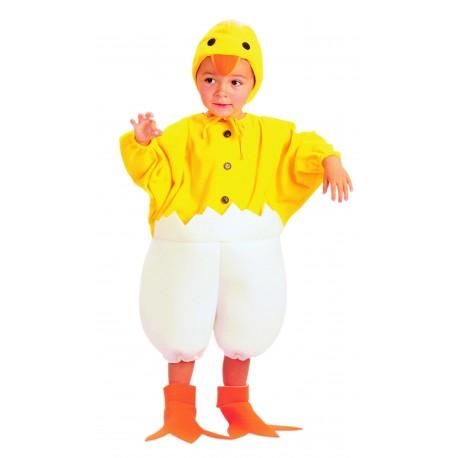 Disfraz de Pollito Calimero Bebe