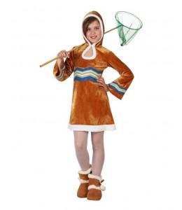 Disfraz de Esquimal Chica Infantil