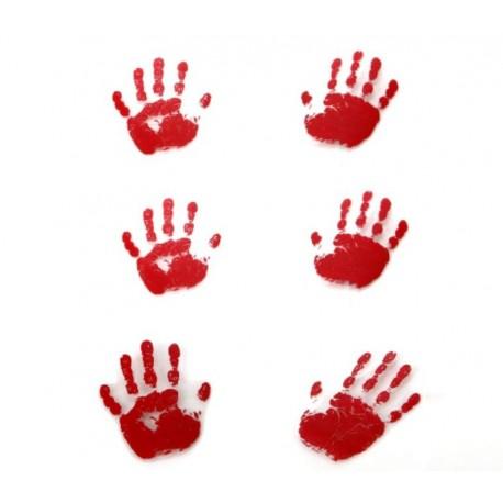 Huellas de Manos Sangrientas