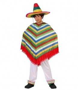 Disfraz de Mejicano lnfantil