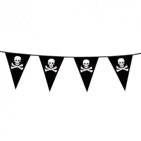 Banderines Triangulares de Pirata