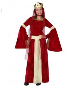 Disfraz de Dama Roja Infantil