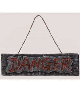Letrero DANGER