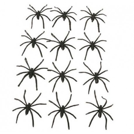 Bolsa Arañas 12 unid