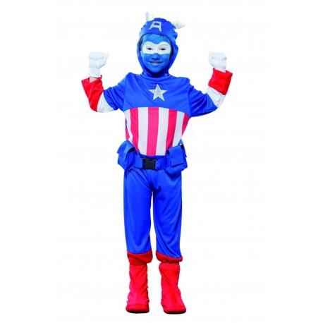 Disfraz de Capitan Azul Infantil