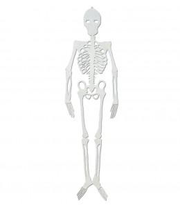 Esqueleto Silueta Fosforescente 90 cm