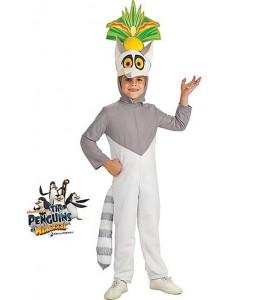 Disfraz de King Julien Infantil