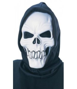 Mascara de Esqueleto con Capucha