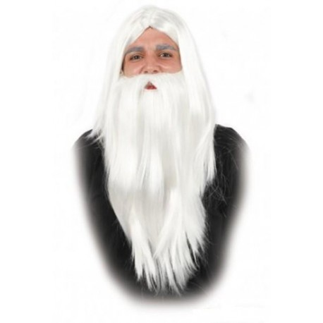 Peluca y Barba de Mago