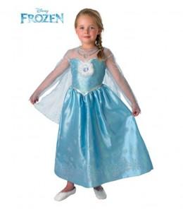 Disfraz de Elsa de Frozen Deluxe Infantil