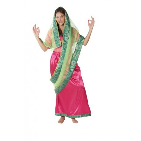 Disfraz de Hindu Chica
