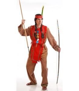 Disfraz de Indio Rojo