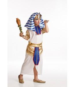 Disfraz de Egipcia Azul Infantil