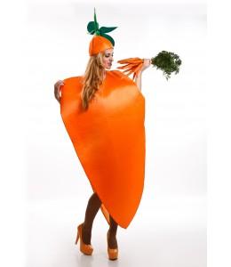 Disfraz de Zanahoria