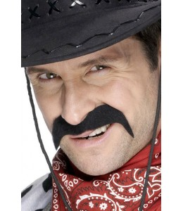 Bigote Cowboy Negro