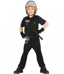 Disfraz de Policia SWAT Infantil