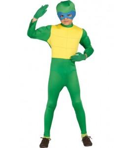 Disfraz de Tortuga Ninja Verde Infantil
