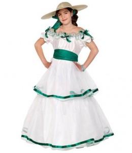 Disfraz de Sureña Infantil