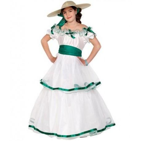 Disfraz de Dama Sureña Infantil