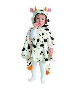 Disfraz de Vaca Bebe