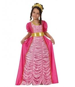 Disfraz de Princesa Rosa Fucsia Infantil