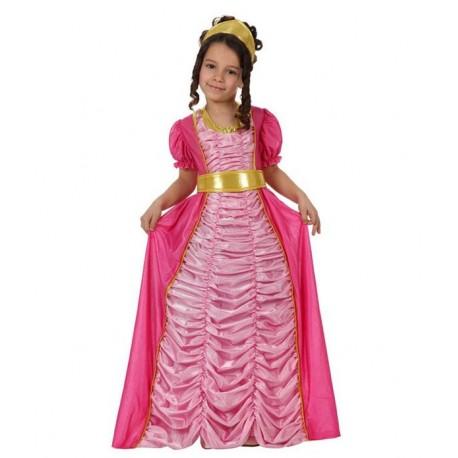 Disfraz de Princesa Fucsia Infantil