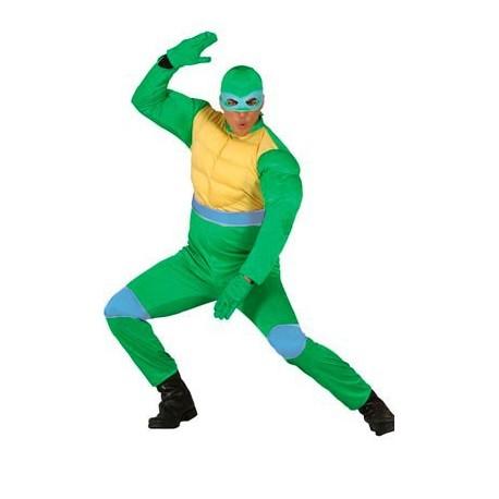 Disfraz de Tortuga Ninja Verde