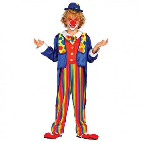 Disfraz de Payaso Colorines Infantil