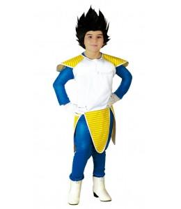 Disfraz de Guerrero Vegeta infantil