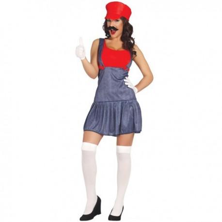 Disfraz Maquinista chica