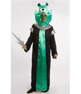Disfraz de Alien Verde