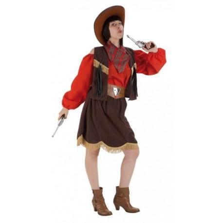 Disfraz de Vaquera Roja