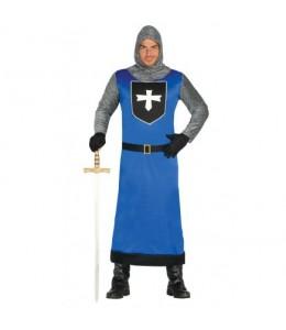 Disfraz de Caballero Medieval Azul