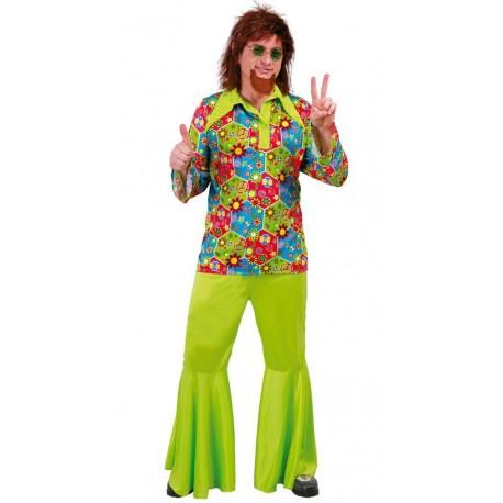 Disfraz de Hippie Flower Chico