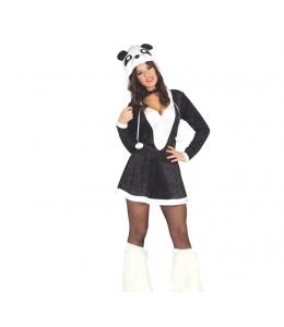 Disfraz de Oso Panda Vestido