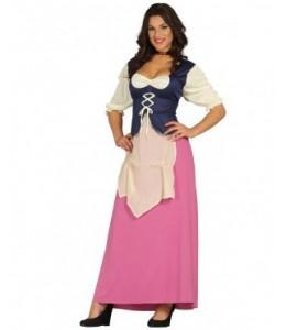 Disfraz de Posadera Rosa
