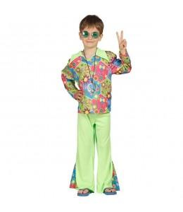 Disfraz de Hippie Flower Chico Infantil