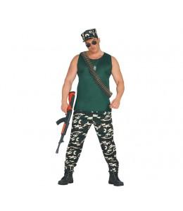 Disfraz de Militar con Camiseta