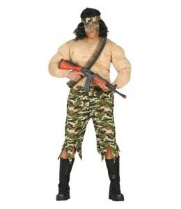Disfraz de Rambo