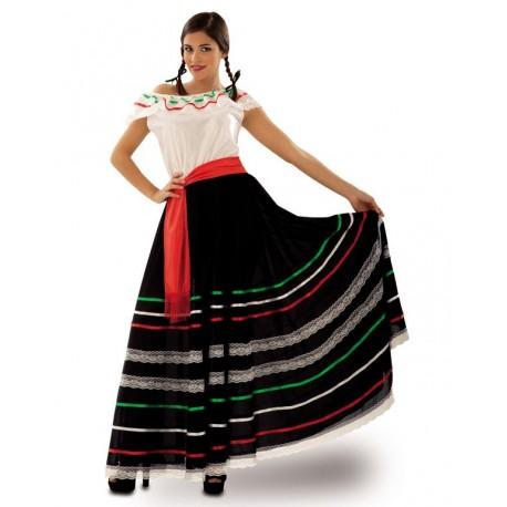 Disfraz de Mejicana Negra