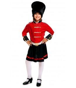 Disfraz de Guardia Inglesa Chica Infantil