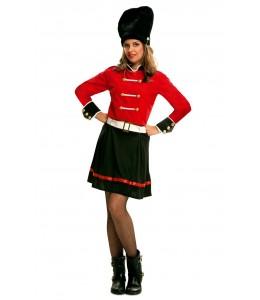 Disfraz de Guardia Inglesa Chica